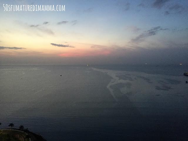 La vista dal Rivage Tower di Panama