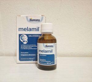 melatonina dormire bambino