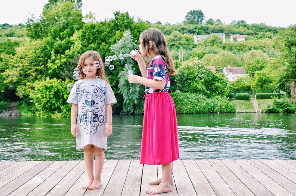 Vestiti per bambini: vestire le bambine Kenzo Kids