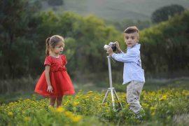 fare foto ai bambini