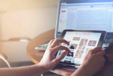 bambini uso tablet
