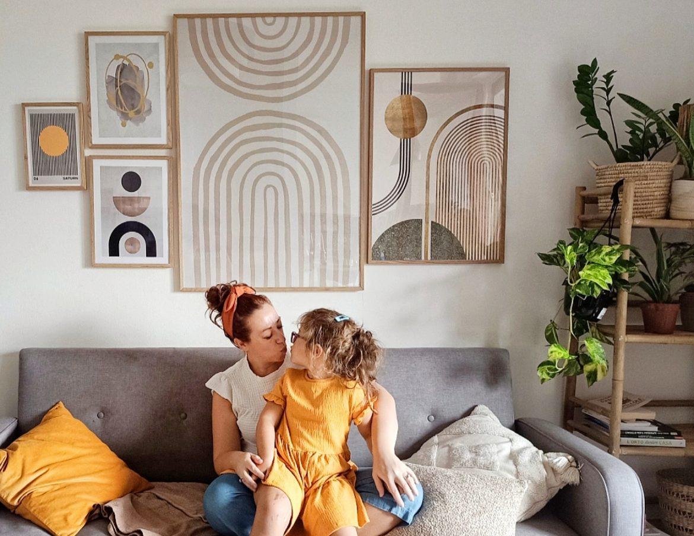 come creare una wall gallery desenio